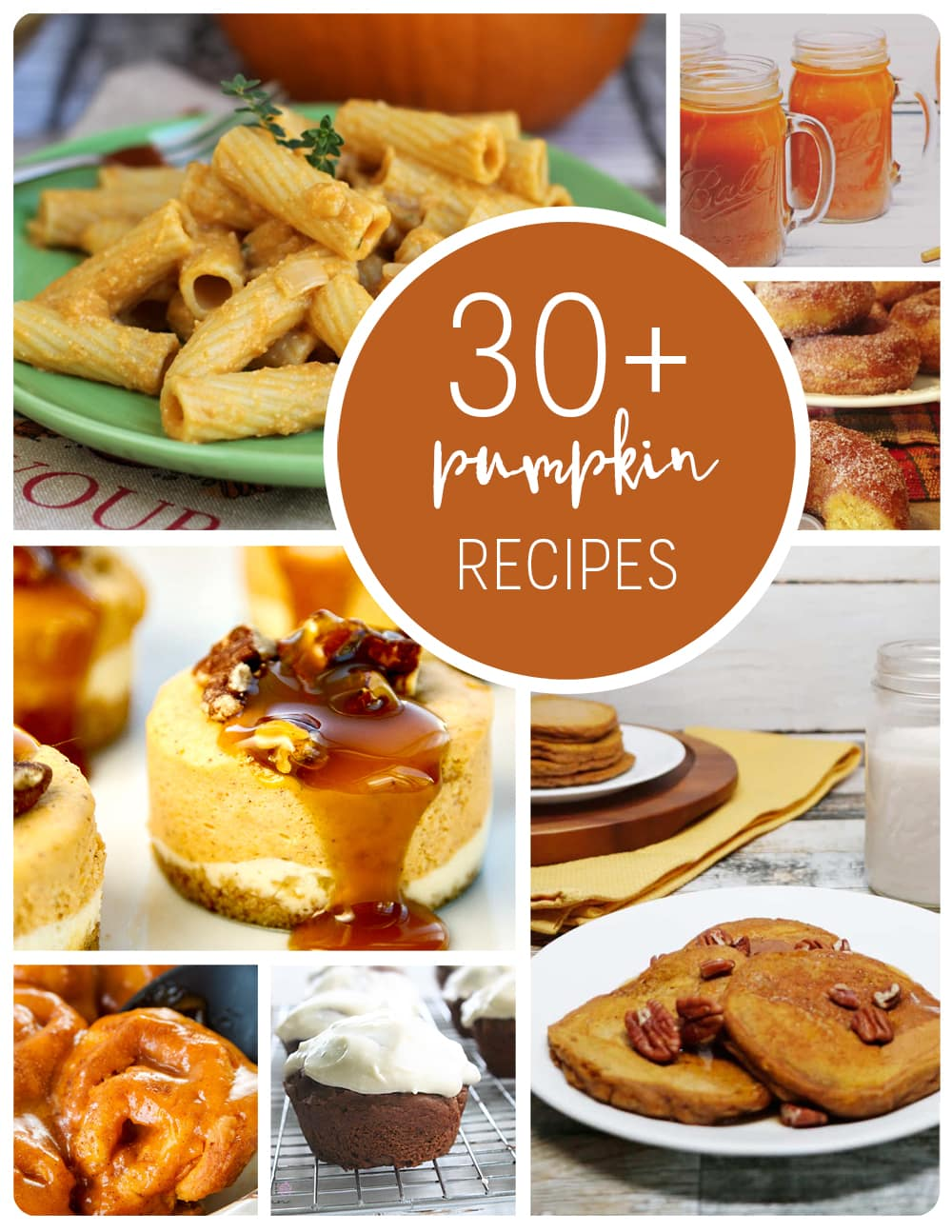 If you're looking for easy pumpkin recipes, I've got you covered with these 30+ delicious pumpkin recipes. From canned pumpkin recipes to fresh pumpkin recipes, sweet pumpkin recipes to savory pumpkin recipes - there's something for everyone.  #PumpkinDessert #FreshPumpkinRecipe #SavoryPumpkinRecipe #Pumpkin #Fall #FallRecipe #FallDessert #FallDinner #Autumn #AutumnRecipe