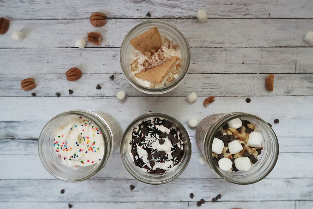 Need a quick 10 minute dessert to wow your guests? Or maybe a simple indulgent dessert for date night? Try these make ahead ice cream sundaes!