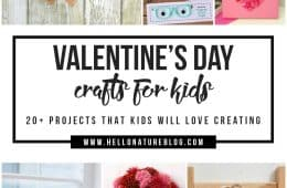 Looking for some fun and easy Valentine's Day Projects for Kids? With over 20 ideas, this list is perfect for those big and small!
