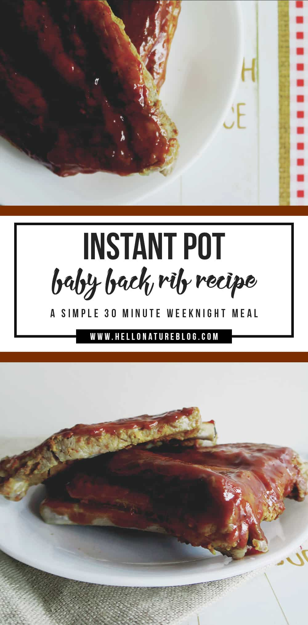 how to make baby back ribs in instant pot
