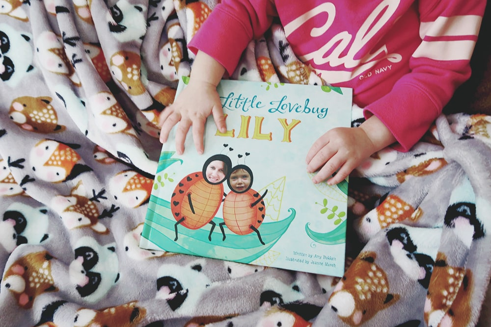Looking for a personalized gift for your little one? My Little Lovebug book from I See Me is the perfect way to express your love!