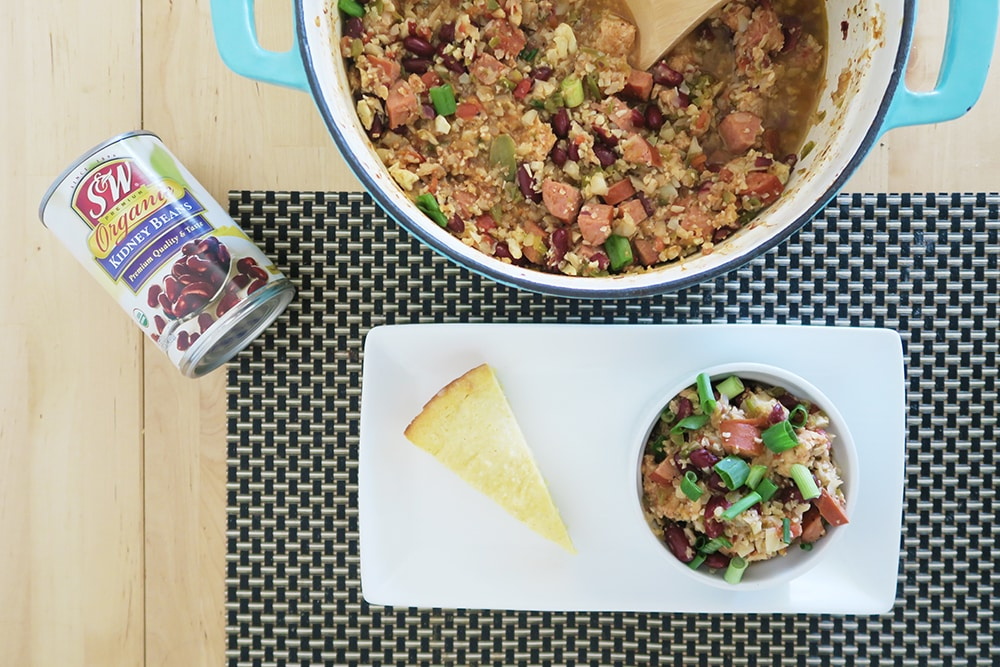 Red Beans and Riced Cauliflower Recipe