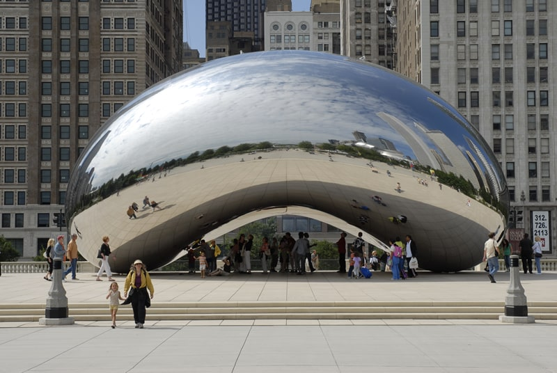 Cloud Gate Sculpture Chicago