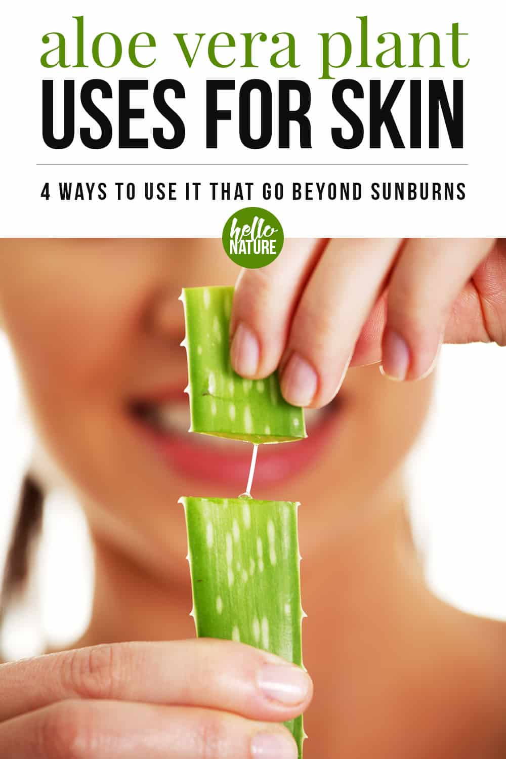 Did you know that there are many aloe vera plant uses for skin that go beyond sunburn relief? Learn how amazing aloe vera for skin care can be with this mini guide on the aloe vera plant uses and benefits.
