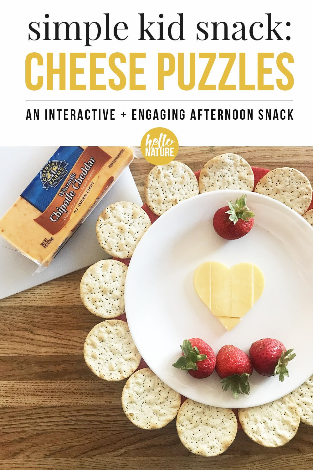 Simple Kid Snack: Cheese Puzzles