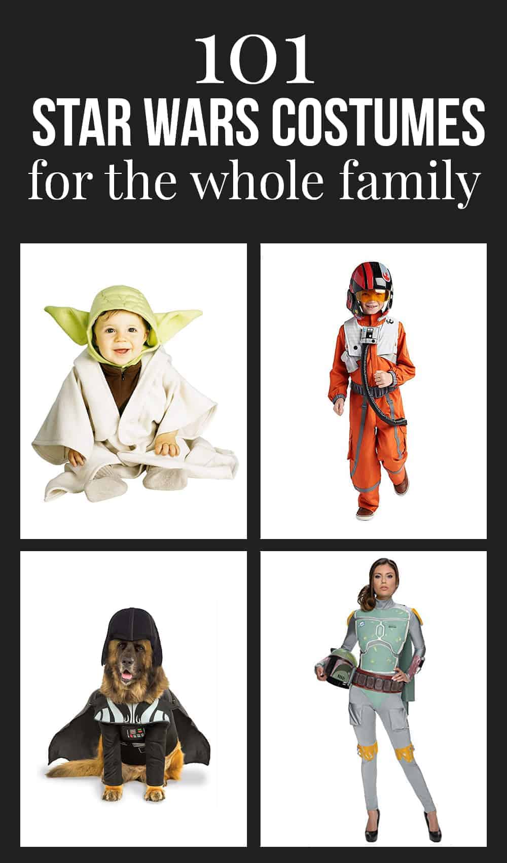 101 Star Wars costumes for the family