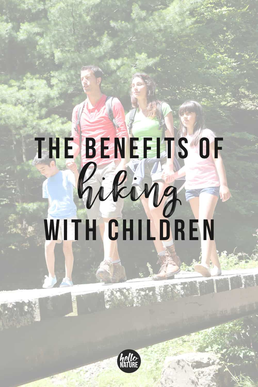 Family vacations can be even more fun when you hit the trails. There are SO many benefits of exploring and hiking with kids. Check out the health benefits of hiking with kids and learn how to get started hiking with your family. These tips will make your outdoor adventures even more amazing! #Hiking #HikingWithKids #GetOutside #OptOutside #OutdoorActivities #OutdoorActivitiesForKids #Camping #CampingWithKids #TravelWithKids