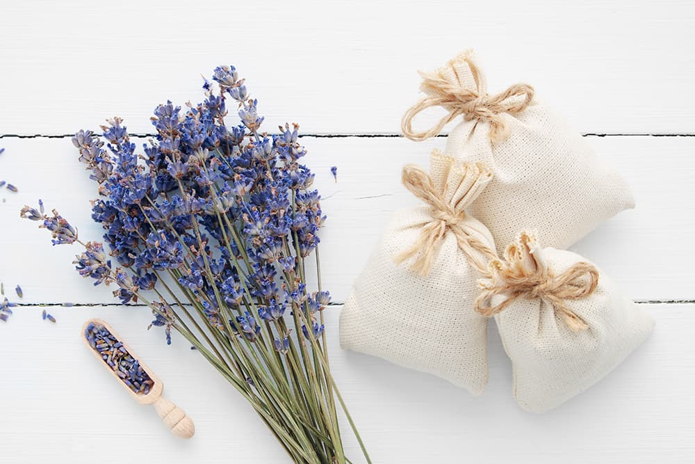 lavender herbal tea bath bags