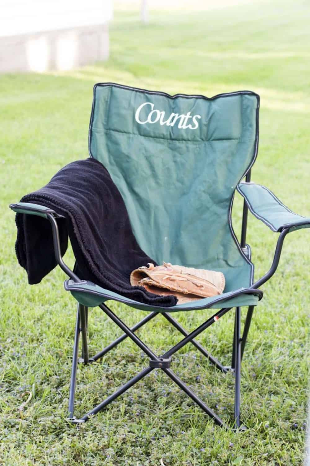 Customized Camping Chair DIY