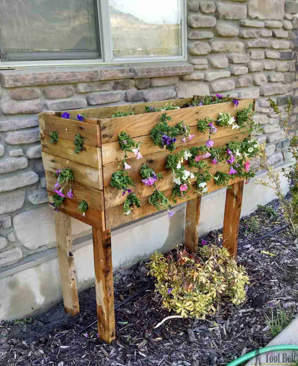 DIY large planter box.