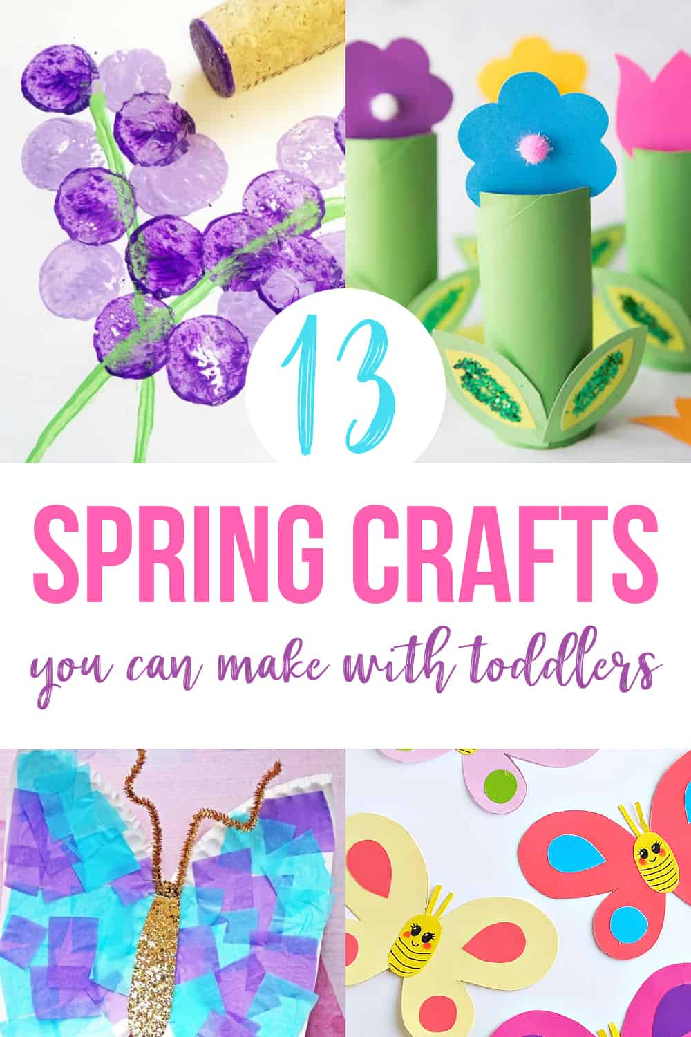 spring arts and craft activities for toddlers