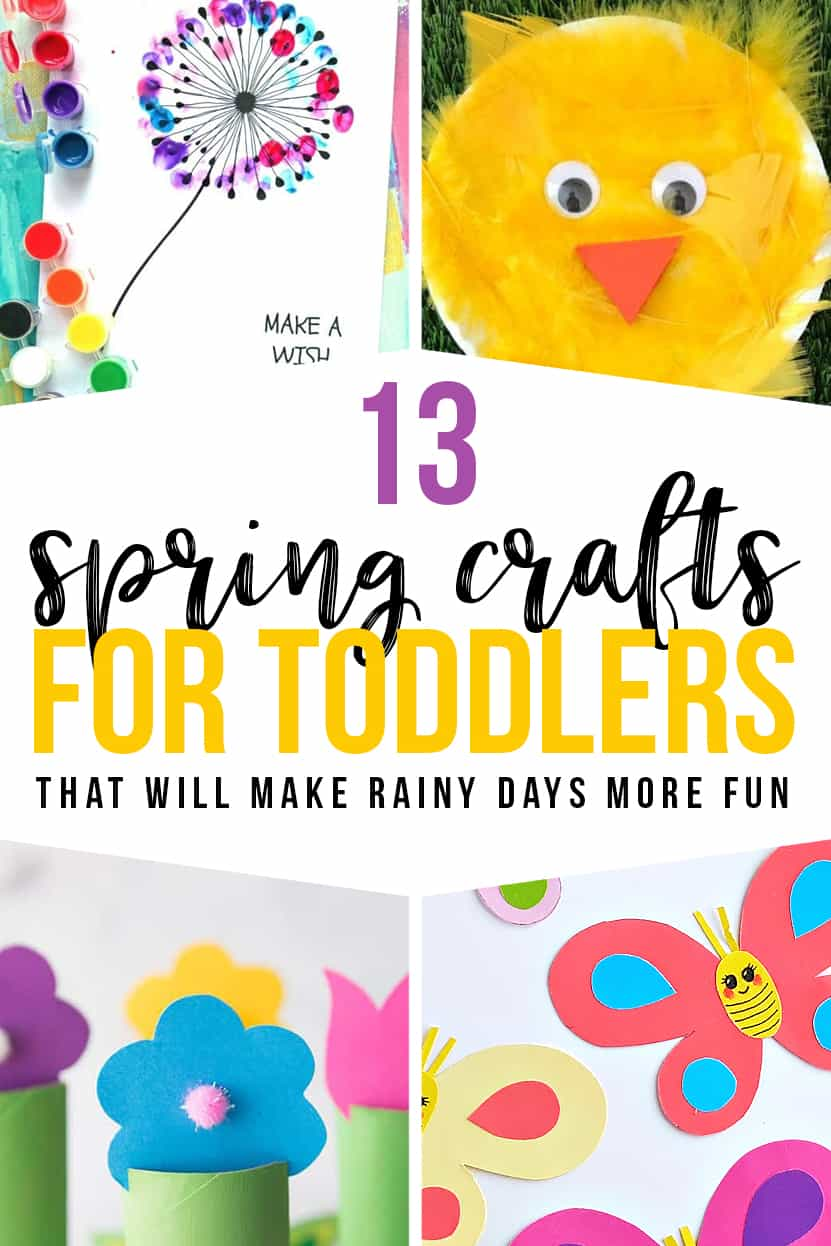 13 Awesome Spring Art And Craft Activities For Toddlers Easy Spring
