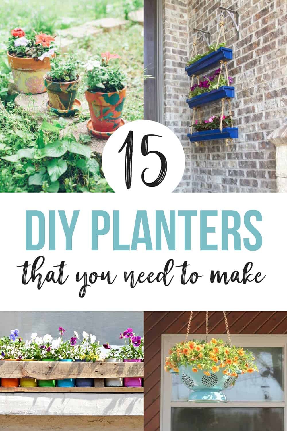creative ideas for plant containers