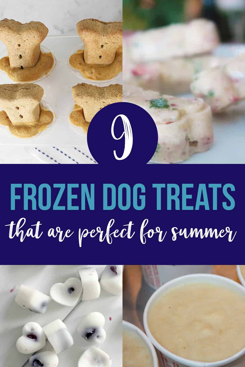 9 homemade frozen dog treats recipes