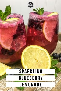 easy blueberry lemonade drink recipe